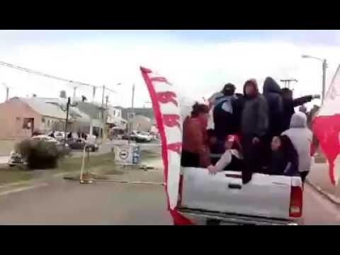 Huracán de Comodoro - Caravana 2016 - Barra de Fierro - Huracán de Comodoro