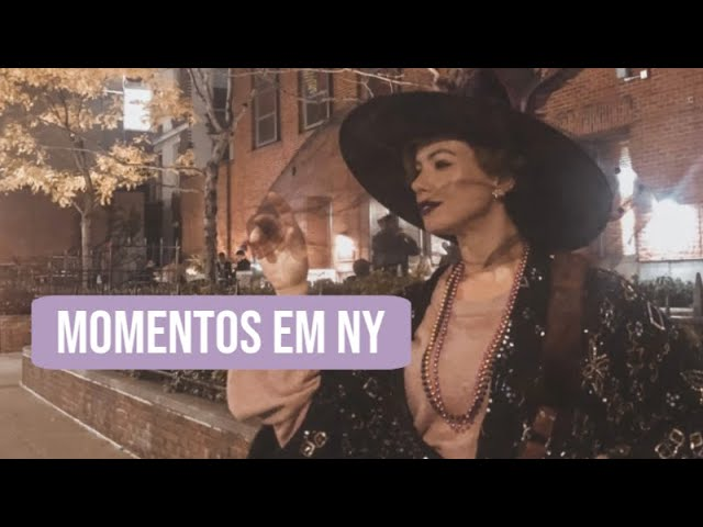 Halloween no EUA + Maratona com Crica   Por Juliana Goes - Juliana Goes