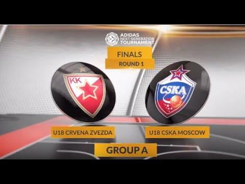 EB ANGT Finals Highlights: U18 Crvena Zvezda mts Belgrade-U18 CSKA Moscow