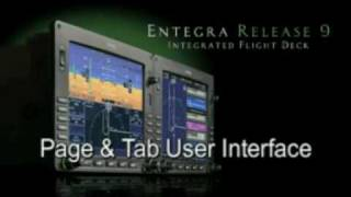 Avidyne Entegra Release 9 - Page&Tab User Interface