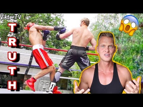 All The Truth About Fight With Logan Paul 😱
