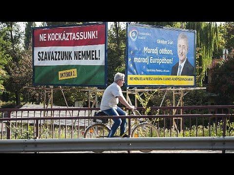 Ουγγαρία: Εσωτερικό και διεθνές στοίχημα του Όρμπαν το δημοψήφισμα για το μεταναστευτικό