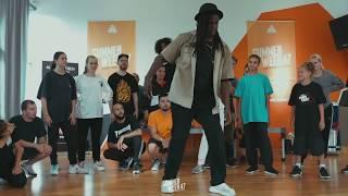 Monsta Pop – SUMMER WEEK´47 INTERNATIONAL URBAN DANCE FESTIVAL 2019 POPPING Workshop