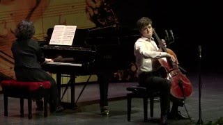 Alexander Warenberg (cello) - Nationale Finale Prinses Christina Concours 2016
