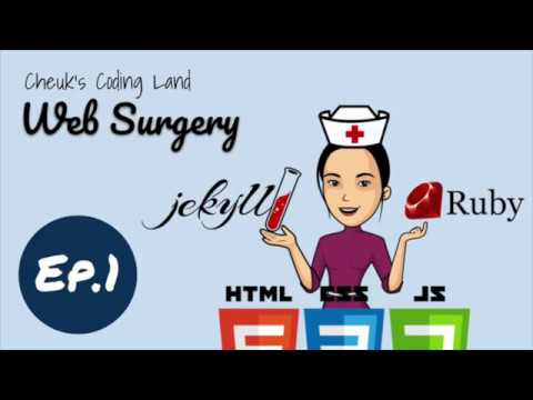 Web Surgery - Ep.1 custom Jekyll Plug-in