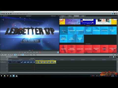 How To Do Transition Effects With Magix Movie Edit Pro Plus