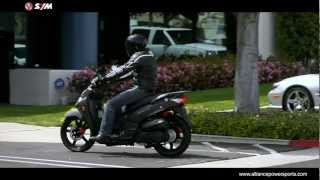 6. Official SYM HD 200 EVO Scooter Video - Distributed by AlliancePowersports.com