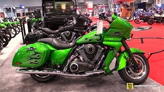 6. 2015 Kawasaki Vulcan 1700 Vaquero ABS - Walkaround - 2014 New York Motorcycle Show