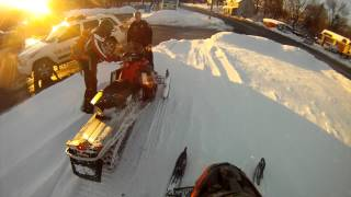 7. Arctic Cat F570 gopro trail riding New York