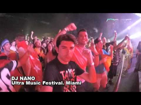 DJ NANO, ultra music festival 2016 (miami, usa)