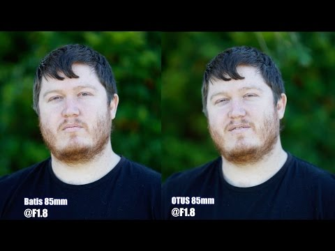 85mm Otus vs Batis - Zeiss showdown