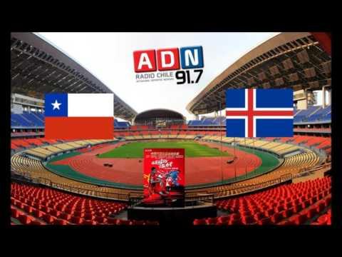 Chile 1 Islandia 0 - Final China Cup 2017 - ADN Radio Chile 91.7