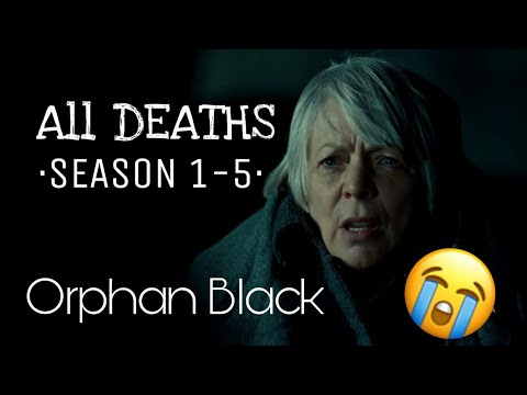 All DEATHS of ORPHAN BLACK· Season 1-5 · [HD]