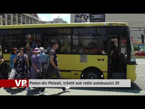 Pieton din Ploiești, trântit sub roțile autobuzului 35