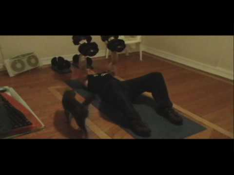 Hybrid (P90X Workout) Shoulder and Arms Ab Ripper X (Day 3)