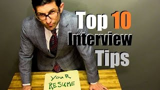 Top 10 Interview Tips To CRUSH Your Interview