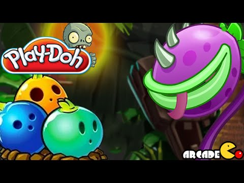 bulb - Play Doh Plants vs Zombies 2: Big Wave Beach Chomper - Play doh Chomper Bowling Bulb Play doh Angry Birds Stella LUCA - How To Make Angry Birds Stella LUCA with Play doh ...