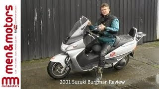 7. 2001 Suzuki Burgman Review