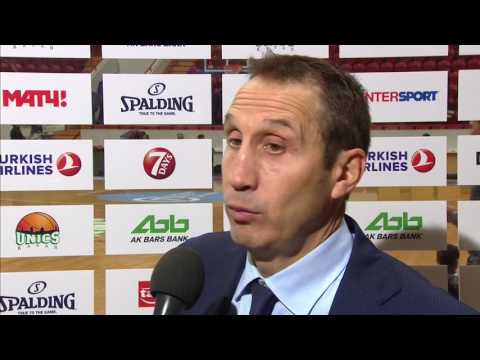 Post-game interview: Coach Blatt, Darusafaka Dogus Istanbul