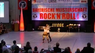 Johanna Weber & Stefan Nuscheler - Bayerische Meisterschaft 2014