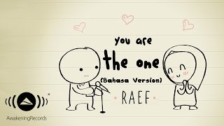 Video Raef - You Are The One (Bahasa Version) | Official Lyric Video MP3, 3GP, MP4, WEBM, AVI, FLV November 2017