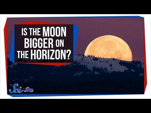 Why Does the Moon Look Bigger on the Horizon