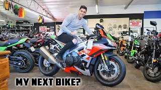 Video Shopping For a New Motorcycle! MP3, 3GP, MP4, WEBM, AVI, FLV Maret 2019