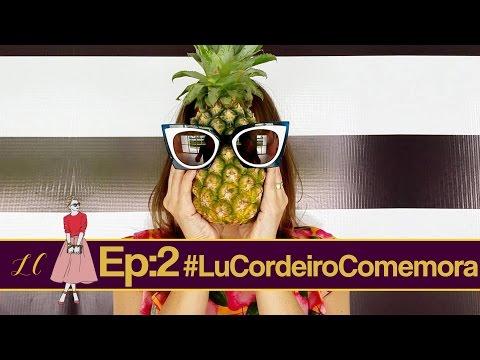 #LuCordeiroComemora: preparativos do aniversário: Bem vividos, Buffet e o Look do dia!