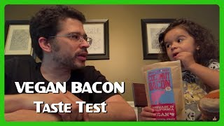 Jedi, Chris and Diana try Phoney Baloney's Coconut Bacon - since everyone is asking - What about bacon, Chris? 🌱🥓BACON LINK: https://twitter.com/ChrisPirillo/status/887290321117339648Vegan Playlist: http://go.tagjag.com/veganvlogshttps://twitter.com/ChrisPirillo https://instagram.com/ChrisPirillo https://facebook.com/chrispirillo Tech Stuff ► http://ChrisPirillo.com/Family Stuff ► http://GeekFamilyFun.com/Giveaways & Deals: http://deals.lockergnome.com/Subscribe to Me! ► http://bit.ly/SubChrisPirilloYes, our daughter's name is Jedi ► http://go.tagjag.com/jedipirilloChris & Diana Pirillo 1420 NW Gilman Blvd #2543Issaquah, WA 98027Hello, galaxy! I'm Chris Pirillo, and I love living the geek lifestyle - as a family-loving father, as an entrepreneur, as a Star Wars collector, as a retro video game player, as a LEGO minifigure fan, as a pop culture event producer, as a thrifting junkie, as an '80s nostalgia kidult, as a toy seeker, as a coupon clipper, as a consumer tech advisor, as a person who loves picking up the digital camera that's usually sitting inside his smartphone and recording whatever thoughts happen to be in my head at the time (or experiences that I'm happy to share with the world)!