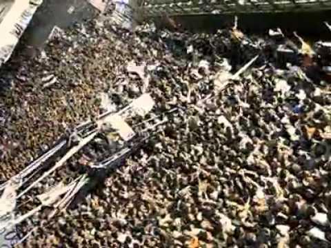Video - la banda del loco fierro - RACING 0 - GIMNASIA 1 - La Banda de Fierro 22 - Gimnasia y Esgrima - Argentina