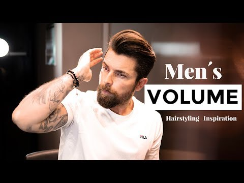 New hairstyle - MEGA Quiff Hairstyle with Maximum Volume Tutorial
