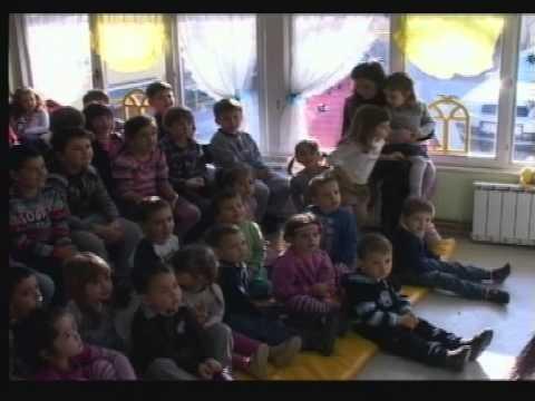 """ДЕДА МРАЗ СТИГАО У ВРТИЋ """"ПОЛЕТАРАЦ"""""""