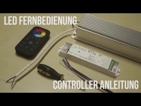 HOW TO DIY - Controller und Fernbedienung für LED Aluminium Profile Galaxy Series