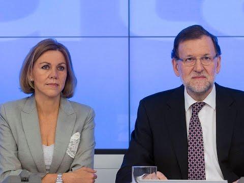 Mariano Rajoy anuncia la nueva estructura del Partido Popular