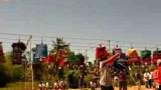 Bird Singing Contest At Koh Phangan, Thailand