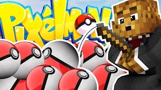 Minecraft PIXELMON LUCKY DIP MINIGAME CHALLENGE - Pokemon Modded Battle Minigame