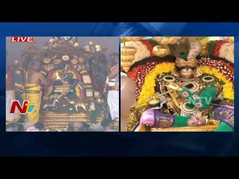 నేత్ర పర్వంగా పద్మావతి అమ్మవారి బ్రహ్మోత్సవాలు || కల్పవృక్ష వాహనం పై ఊరేగుతున్న అమ్మవారు