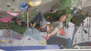 Climbing In Magnus Midtbo's Gym - Vlog 78 by Matt Groom