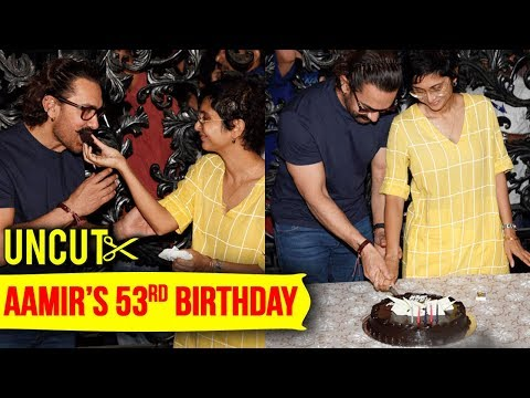 Aamir Khan Celebrates 53rd Birthday With Kiran Rao