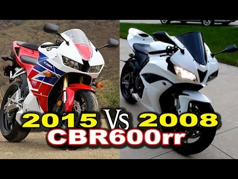 Video 2015 vs 2008 Honda CBR600rr Review download in MP3, 3GP, MP4, WEBM, AVI, FLV January 2017