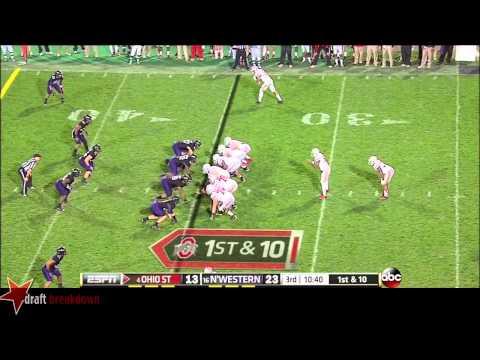 Taylor Decker vs Northwestern 2013 video.