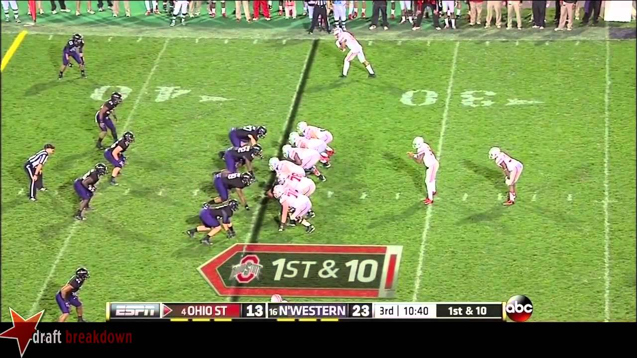 Andrew Norwell vs Northwestern (2013)