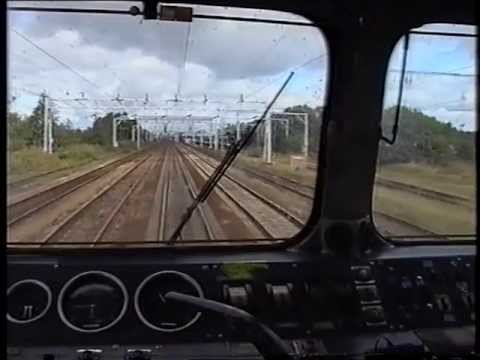 87033 Tamworth - Crewe Driver`s Eye View  2001