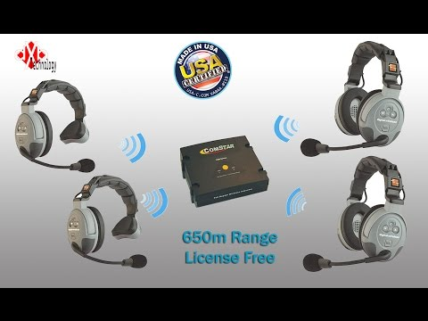 Wireless Eartec ComStar intercom Series.. How To Configure ?!!