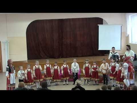 Отчетный концерт фольклорного отделения 2019