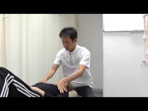 【施術動画】小顔矯正 2 頭皮・首まわりの筋肉をゆるめる