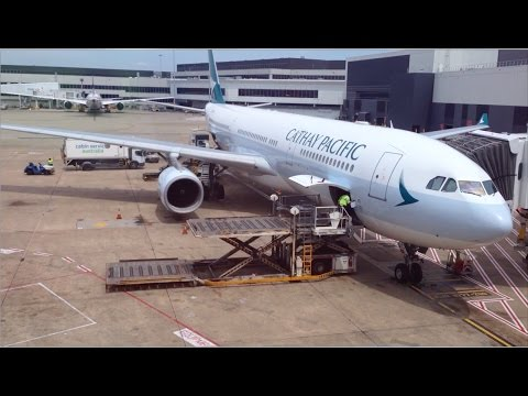 Cathay Pacific Airbus A330-300 BUSINESS Class - Sydney To Hong Kong - Trip Report
