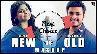 Video New vs Old Bollywood Songs Mashup MP3 Audio | Raj Barman ft. Deepshikha | By Bhadresh MP3, 3GP, MP4, WEBM, AVI, FLV Juni 2019