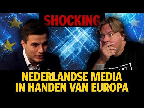 Shocking: Nederlandse media in handen van Europa- Jensen