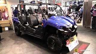 3. 2015 Yamaha Viking VI Side by Side ATV - Exterior and Interior Walkaround - 2014 Toronto ATV Show